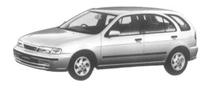 NISSAN LUCINO S-RV 1997 г.