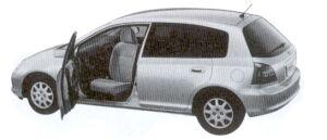 HONDA CIVIC 2002 г.