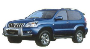 TOYOTA LAND CRUISER PRADO 2005 г.